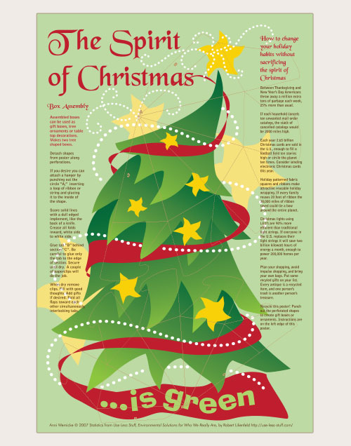 The Spirit of Christmas is Green poster