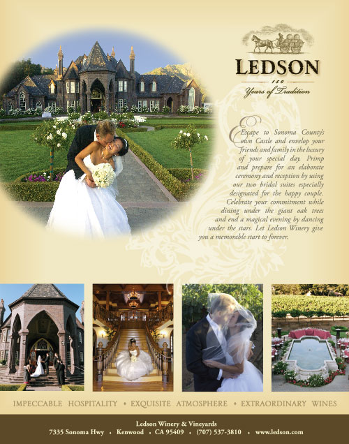 Ledson Winery ad