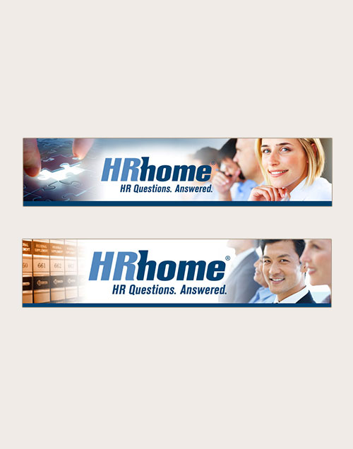 Hrhome email newsletter banners